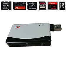 All-in-1 Ssk Scr Compact Flash Multi Memory Card Reader Cf Adapter MicroSd Ms Xd