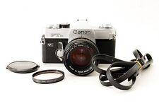 [Exc+++] Canon FTb QL 35mm SLR Film Camera + FD 50mm F1.4 SSC from Japan #62707