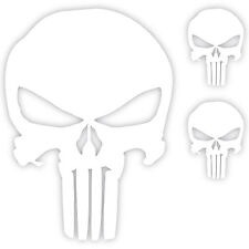 "The Punisher Skull (3x) Vinyl Decal Sticker Car Window Laptop DC Comics 6""/2""/2"""