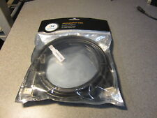 Cable Matters Gold Plated Display Port to Display Port 10 Feet Long Black SEALED