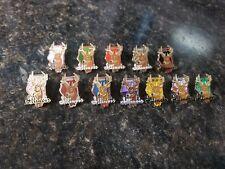 Illinois Deer Harvest Big Buck pin set 2006-2010, 2012-2018 IDNR Issued