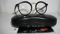 RAY BAN Frame RX Eyeglasses New Shiny Black RX7110 200 46 20 145