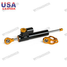 Universal Adjustable Steering Damper Stabilizer For Racing,Sport,GP Motorcycle