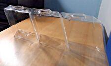 Clear Glass Flower Plant Pot small Vase Stand Holder Diamond-shape