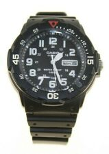 CASIO MENS ROTATING COUNT UP BEZEL BLACK RESIN STRAP WATCH 902 5873 NEW