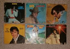 elvis record vinyl lot I got lucky separate ways flaming star let's be friends &