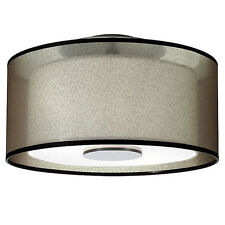 New Modern Semi-Flush mount Drum Pendant Lighting Ceiling Fixtures Lamp