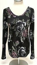 Lululemon Women's Long Sleeve Needlepoint Floral Print Long Sleeve Top Sz Medium