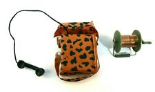 GI Joe 1964 Action Marine Communication Equipment Camo Field Radio & Wire Spool