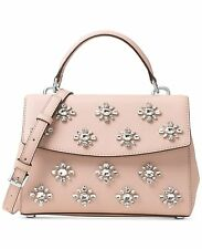 NWT Michael Kors Small Saffiano Ava Jewel Small Top Handle Satchel Ballet