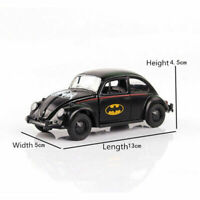 1/32 Scale Black Batmobile Batman Car Model Vehicle Vintage Classic Diecast Toys