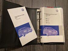 VW VOLKSWAGEN GOLF HANDBOOK OWNERS MANUAL & WALLET 2005-2008 * MARK 5 * GTI TDI