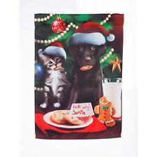 For Santa Only Dog & Cat Decorative Garden Flag