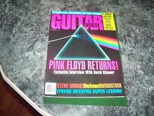 pink floyd returns  GUITAR MAGAZINE sep. 1994 COVER EXCellent condition