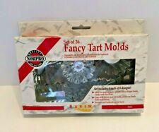 Norpro Fancy Tart Molds ~ Set of 36 ~ 6 Different Designs