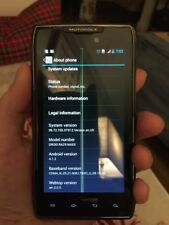 Motorola Droid Razr Maxx XT912 Smartphone 16GB Black Verizon WiFi Bluetooth Cell