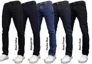 Wrangler Larston Men's Slim Tapered Fit Stretch Jeans, BNWT