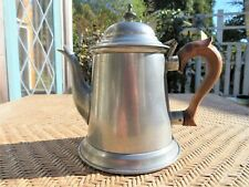 Kirk Stieff Pewter ATC P32-7 COLONIAL WILLIAMSBURG Teapot Coffee 7.5""