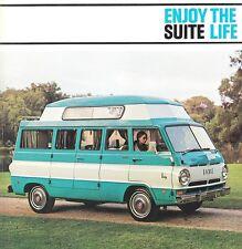 1969 Dodge Travco Executive Suite Host Wagon Enjoy The Life Van Sales Brochure