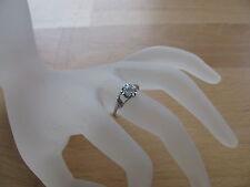 Ring (RSS0002) 925er Silber mit Swarovski-Stein, Gr.17
