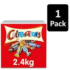 2.4kg Celebrations Chocolate Bulk Case Assorted Milk Chocolate Single Pack