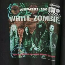 White Zombie - Astro Creep Tour - XL T-Shirt - VINTAGE (1995)
