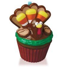 Grateful Gobbler Cupcake 4th in Month Series 2015 Hallmark Ornament