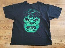 The Incredible Hulk Marvel T-Shirt Size 2XL Black