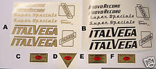 Italvega decal set choices- for Campagnolo bike  New!