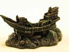 "Beautiful 6"" Resin Small Sunken Ship Decoration/ Ornament (SHIP FROM USA)"
