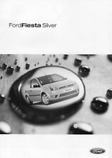 FORD FIESTA SILVER BROCHURE 2003 NEVER LEFT SHOWROOM