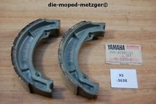 Yamaha sr250g 25g-w2536-01 Brake shoe kit genuine volver a nos xs3638