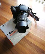 Canon EOS 600D 18.0 MP SLR-Digitalkamera mit Sigma 18-250 mm Objektiv