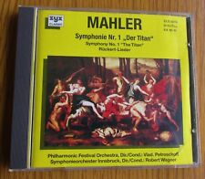 MAHLER SYMPHONY No.1 THE TITAN 1980's WEST GERMAN PRESSING CD ALBUM ZYX CLASSICS