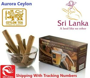 Ceylon Cinnamon tea Drink 25 Bags Natural Herbal Drink Balance Blood Sugar