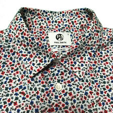 PS PAUL SMITH Men's FLORAL Shirt Size Small Slim Fit