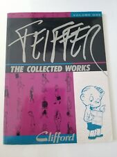 FEIFFER: THE COLLECTED WORKS 1989 FANTAGRAPHICS BOOKS Jules Feiffer Softcover