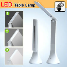 Foldable Rechargeable LED Desk Table Lamp Light Reading Study Bedside Touch Ctrl