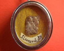relic reliquary reliquia SHRINE   RELICARIO SAN LEONARDO DA PORTO MAURIZIO
