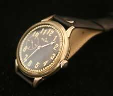 Very rare Soviet Molnija Komandirskie Commander Pilot men's 18J wristwatch