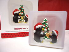 New listing Hallmark 2013 Holiday On Ice Penguin Ornament New In Box Collectible