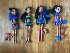 Monster High Dolls Robecca steam. Signature 1st wave, Fashion Pack, Art Class
