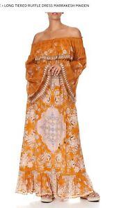 Camilla Stunning Marrakesh Maiden Silk Dress XL