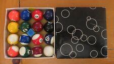 Miniature Billiard Ball Set