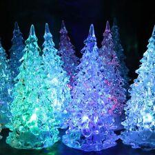 Children Crystal For Xmas Gift LED Light Tree Christmas Tree Lamp Christmas