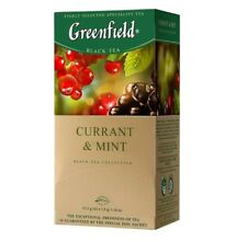 Russian Greenfield tea black chai 25bags in package!  2 NEW tastes!