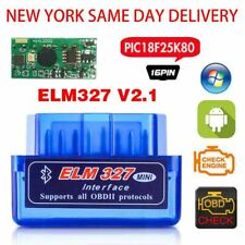 OBD2 ELM327 V2.1 Bluetooth Car Scanner Android Torque 2019 New Scan Tool
