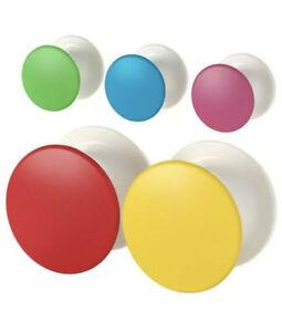 Ikea LOSJON Hangers, Mixed Colors (5 Pack) - NEW