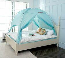 Besten Floorless Indoor Privacy Tent On Bed With Color Poles For Cozy Sleep In D
