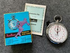 Hanhart 7 Jewels 1/10 sec. Mechanical Wind Up Vintage Stopwatch